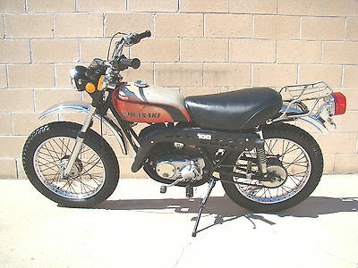 1974 Kawasaki Other  1974 Kawasaki G4TR 100cc 10-speed Trail Boss