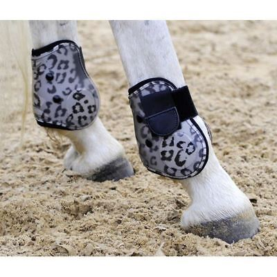 HKM Horse Pony Stylish Fashion Overreach Equine Protection Animal Bell Boots