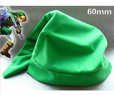 New Green LEGEND OF ZELDA Link Hat Cap Anime Game Cosplay