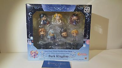 Sailor Moon Dark Kingdom Petit Chara Mini Figures Figure Set of 7 MegaHouse