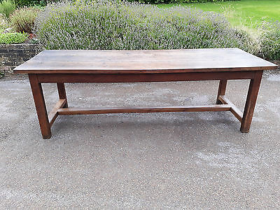 Stunning Oak French Antique Farmhouse Refectory Table