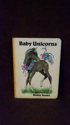 VTG Baby Unicorns Board Illustrated by Robin James of Serendipity Books