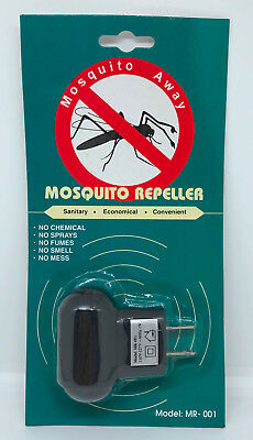 110-120 VAC Plug in Mosquito Away Sonic Electronic Repeller