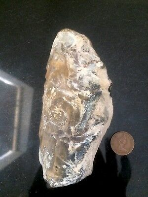 Exceptionally Rare Upper Palaeolithic Worked Flint Hand Axe.