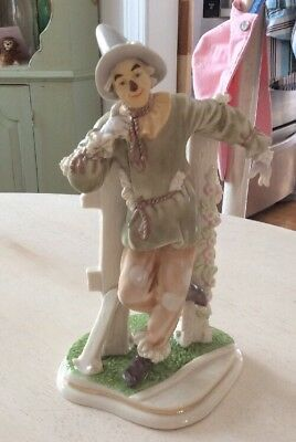 """Lenox WIZARD OF OZ collection SCARECROW 9"""" Tall Figurine"""