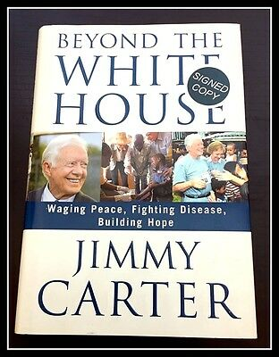 AUTOGRAPHED Hand SIGNED Beyond the White House by Jimmy Carter 1st COA Free SHIP