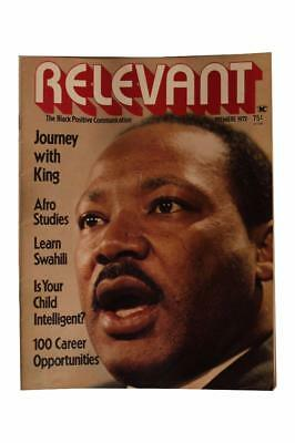 African American Magazine Relevant Black Positive Communication 1972 ONLY ISSUE