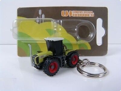 Claas Xerion 3300 Tractor Keyring Diecast New