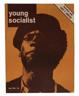 Huey Newton Black Panthers Young Socialist Magazine African Americana