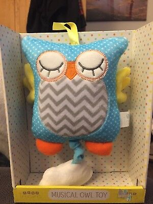 Baby Musical Owl Toy Nursery