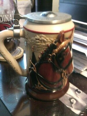 Anheuser Busch Proud Heritage Clysdale Stein Limited Edition