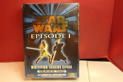 1999 TOPPS Star Wars EPS 1 WIDEVISION FACTORY SEALED SERIES 2 HOBBY EDITION BOX