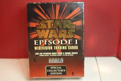 1999 TOPPS Star Wars EPS 1 WIDEVISION SERIES 1 FACTORY SLD SPECIAL COLLECTORS ED