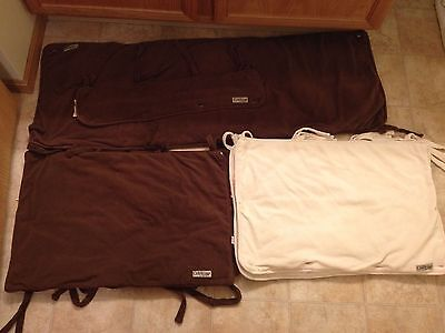 Lot of 8 Gently Used Trend Lab Crib Rail Covers Great Condition