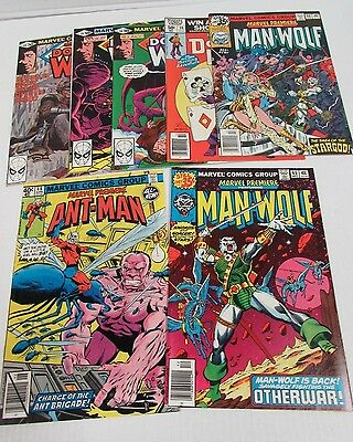 Marvel Premiere 45, 46, 48, 56, 58, 59, 60 Ant-Man Dr Who High Grade VF/NM CU283
