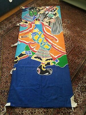 japanese hand painted banner