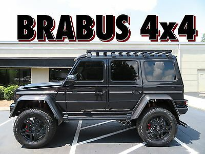 2017 Mercedes-Benz G-Class G550 BRABUS 4X4 SQUARED ONLY 900 MILES! ULTRA RARE BRABUS EDITION G550 4x4 SQUARED!