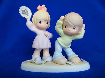 """Precious Moments """"Yes Dear, You're Always Right"""", 523186E, RARE, Ltd Ed, SIGNED!"""