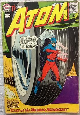 Atom #17 (1965 DC 1st series) VG+ condition 51 yrs old Silver Age