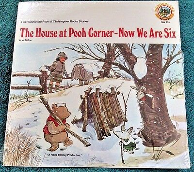 The House at Pooh Corner - Now We Are Six (Winnie the Pooh) LP Still Sealed