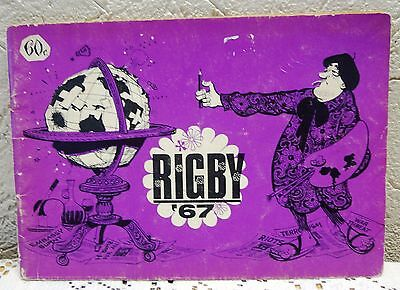 "Rare Vintage 1967 ""Rigby"" Comic Book – Pre-loved"