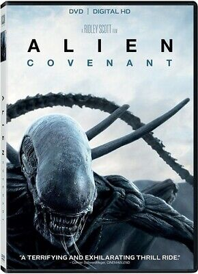 Alien: Covenant (2017, DVD NEUF) (RÉGION 1)