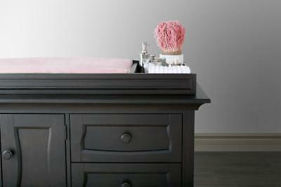 Eco Chic Baby Dorchester Changing Topper - Slate
