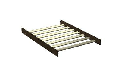 Imagio Baby Midtown Full Size Bed Conversion Rails - Chocolate Mist