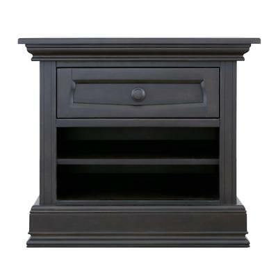 Eco Chic Baby Dorchester Nightstand - Slate