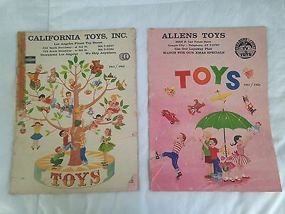 1961 / 1962 Vintage Toy Store Catalogs