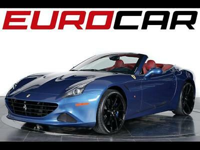 2015 Ferrari California T 2015 Ferrari California T - Rare Blue On Red, REMAINING FACTORY WARRANTY