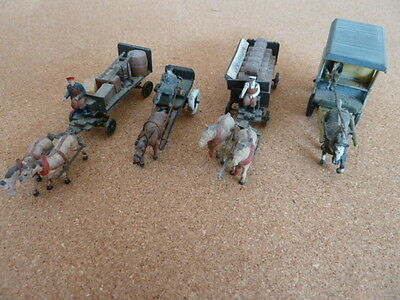 HO Figures, Animals, Detail Items, Vehicles including Horse Drawn