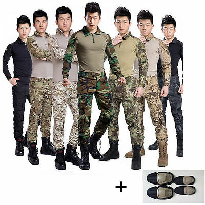 2017 Airsoft Tactical Gen3 G3 Combat Suit Shirt Pants Special Force BDU Uniform!