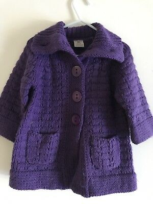 Pumpkin Patch Knitted Jacket Size 4