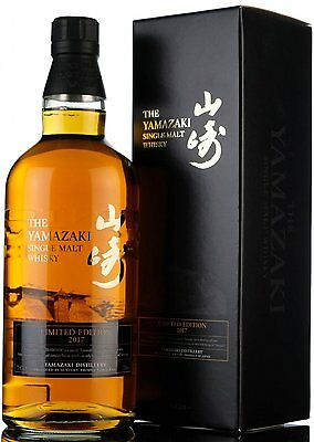Suntory Yamazaki 2017 Limited Edition Single Malt Japanese Whisky - 12 17 18 21