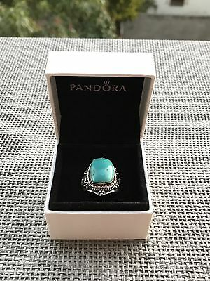 Turquoise Indian Ring (Sterling Silver 925 )