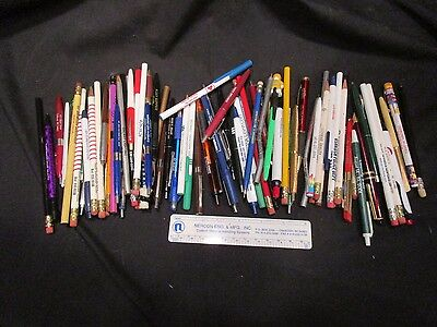 Oshkosh, WI. Vintage. Pen & Pencil Lot...Over 60 In All !...