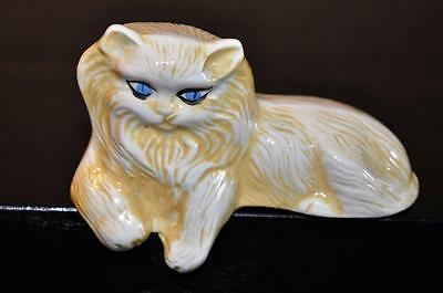 VINTAGE Persian Ledge Sitting Kitty Cat Figurine   MchmBox2#2