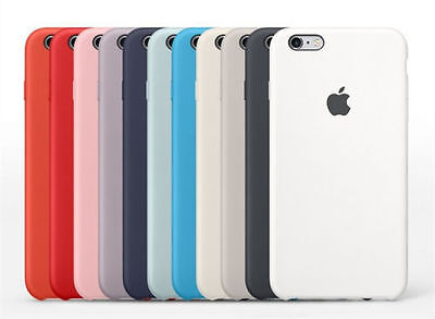 Luxury Original Silicone Ultra-Thin Phone Back Case Cover For iPhone 6 6s Plus