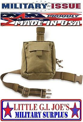NEW London Bridge LBT-2648B USMC Drop Leg IFAK Pouch Medic Corpsman MOLLE Coyote
