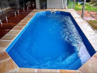Fibreglass Swimming Pool 6m Swim Spa Shell & KIT