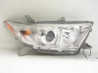 Toyota Highlander Headlight Halogen Right Oem 11 12 13 2011 2012 2013