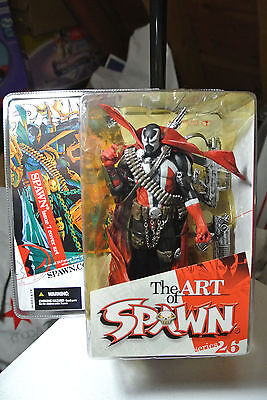 MCFARLANE -SPAWN SERIES 26 THE ART OF SPAWN ISSUE 7 COVER ART-Unopened