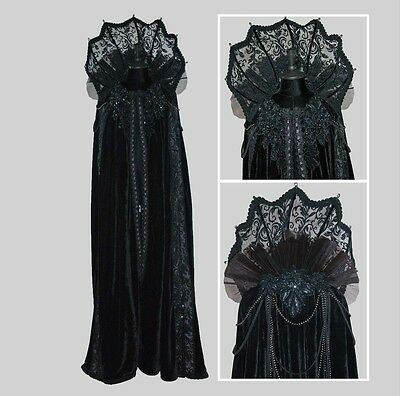 Elaborate Witch Vampire Cape Halloween Costume Katherine's Collection 28-728506