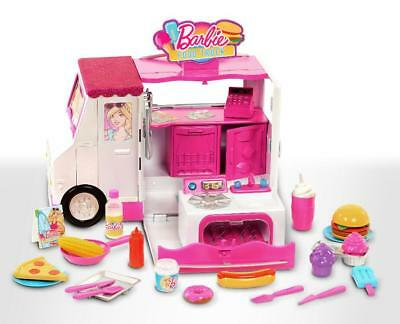Barbie Chill and Grill Food Truck Playset - 31 Pieces