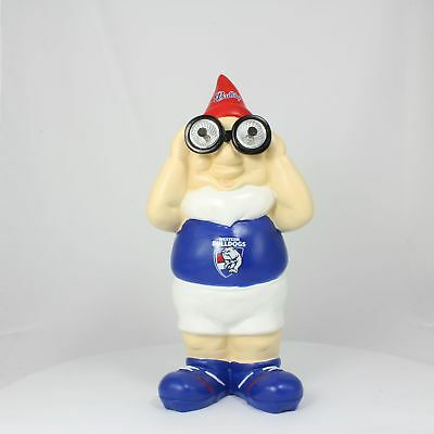 Western Bulldogs AFL Solar Powered Binocular Design Gnome