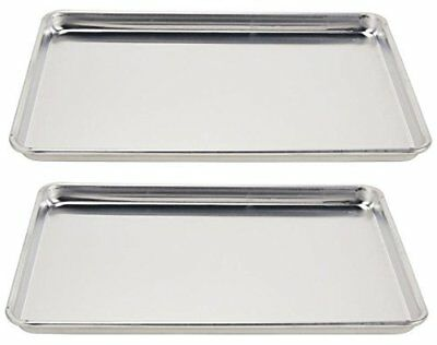 Vollrath (5303) Wear-Ever Half-Size Sheet Pans, Set of 2 (18-Inch x 13-Inch x