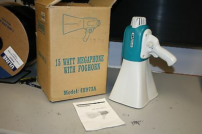Dynavox 15 Watt Megaphone With Foghorn Model Number 4H973A