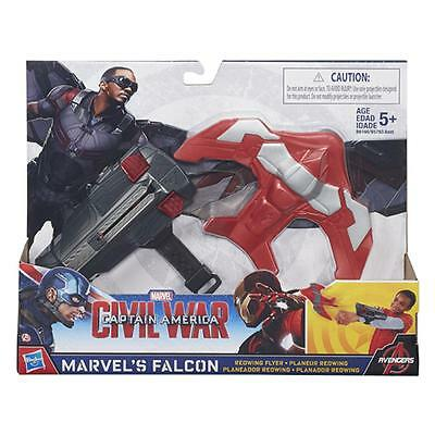 Marvel Avengers Mission Gear Marvels Falcon Redwing Flyer Blaster / Age 5+