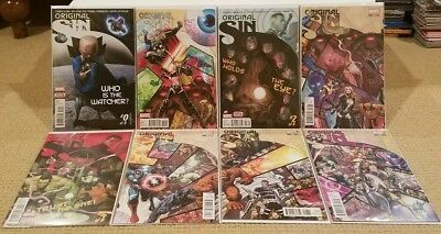 Original Sin #0, 1, 2, 3, 4, 5, 6, 7 1ST PRINT NM